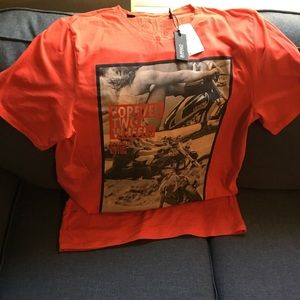 Brand new vintage buffalo graphic T-shirt